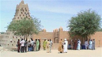 Une mosquée à Tombouctou, au nord du Mali