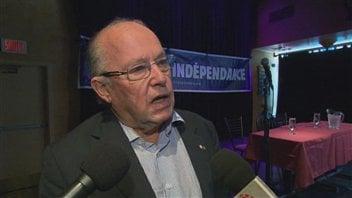 L'ex-premier ministre du Québec, Bernard Landry.