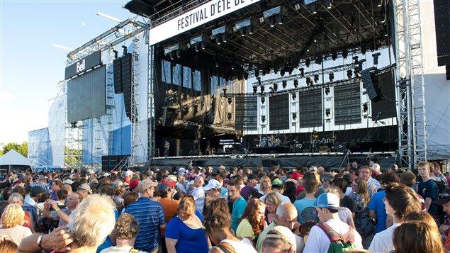 Foule au Festival d'été de Québec