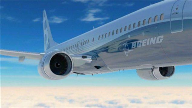 Un Boeing.
