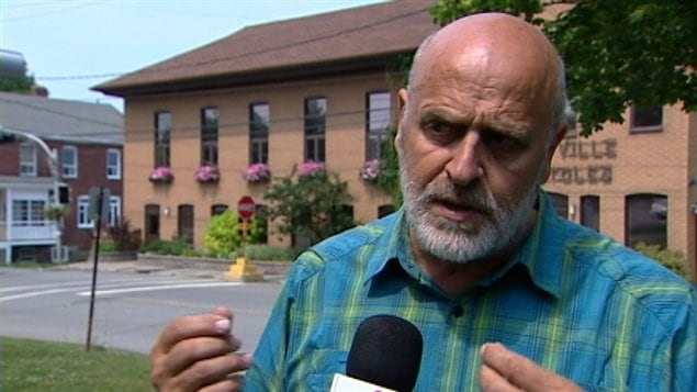 Le maire de Trois-Pistoles, Jean-Pierre Rioux