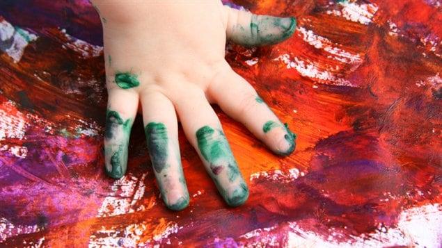 Peinture à doigts