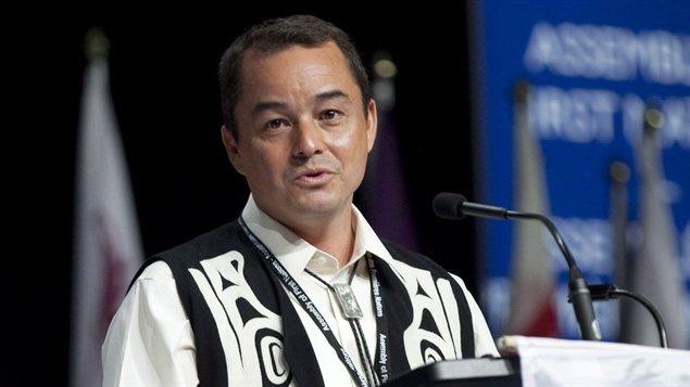 Le représentant national des Premières Nations, Shawn Atleo