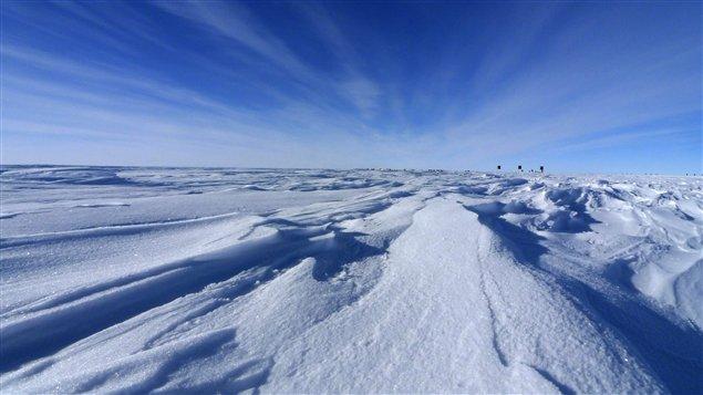Près du Dôme Argus, en Antarticque