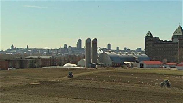 Terres de l'ancienne ferme SMA