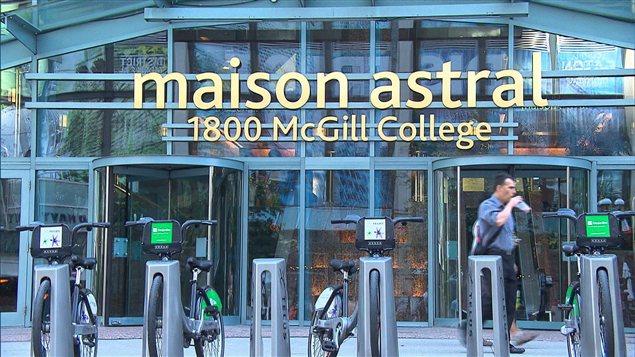 Bureaux d'Astral Média à Montréal