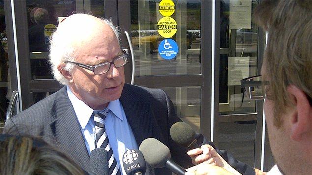 L'avocat Ronald LeBlanc représente les propriétaires d'usine.