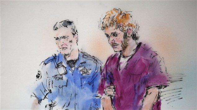James Holmes, responsable du carnage Aurora le 20 juillet dernier aux États-Unis / Illustration Bill Robles PC