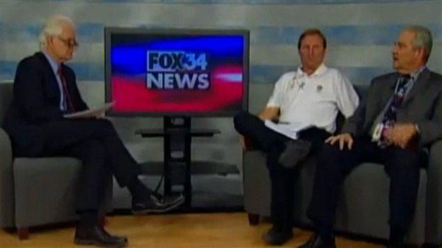 Le juge John Head (à droite) lors de son entrevue à Fox News