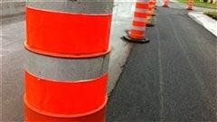 Carte interactive des chantiers d'asphaltage à Québec