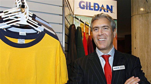Le président et chef de la direction de Vêtements de sport Gildan, Glenn Chamandy