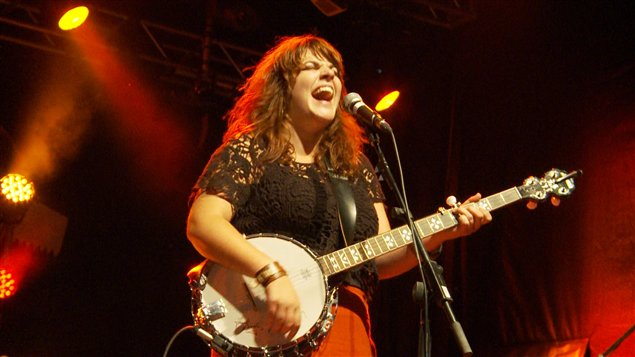 L'auteure-compositeure-interprète Lisa Leblanc, en spectacle au Festival de musique émergente en Abitibi-Témiscamingue