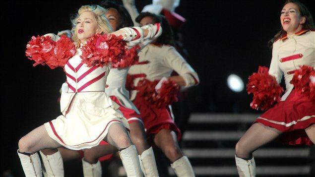Madonna sur les plaines d'Abraham
