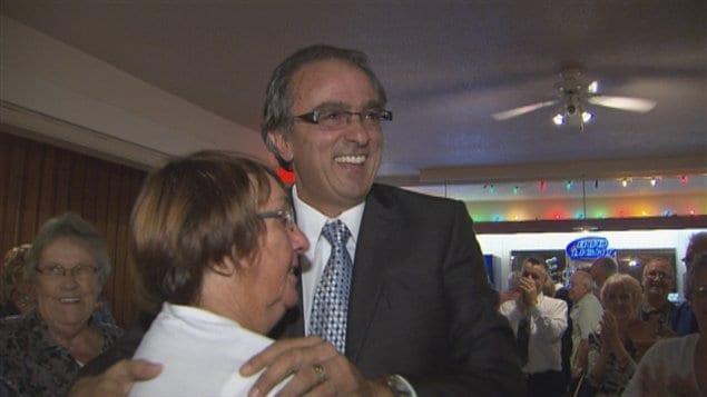 Le député du Parti québécois dans Dubuc, Jean-Marie Claveau