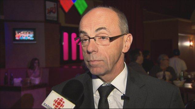 Le député de Roberval, Denis Trottier