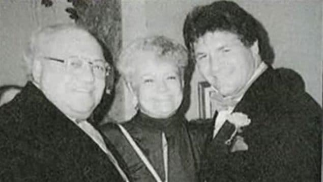 L'ancien président de la FTQ Louis Laberge en compagnie de Tony Accurso