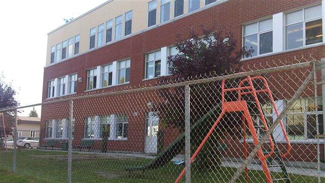L'école primaire Saint-Sauveur de Val-d'Or