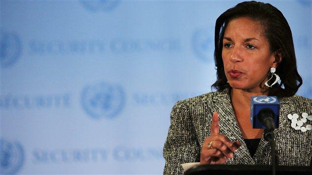 Susan Rice, ambassadrice américaine à l'ONU
