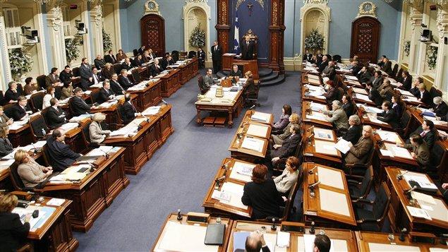 Groupes parlementaires à Québec