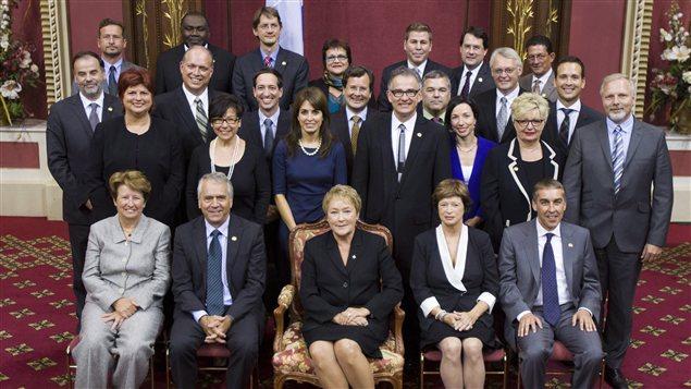 Le Conseil des ministres du gouvernement Marois