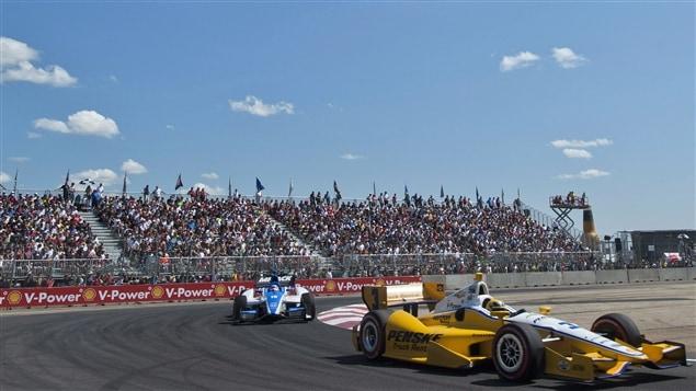 La course IndyCar à Edmonton