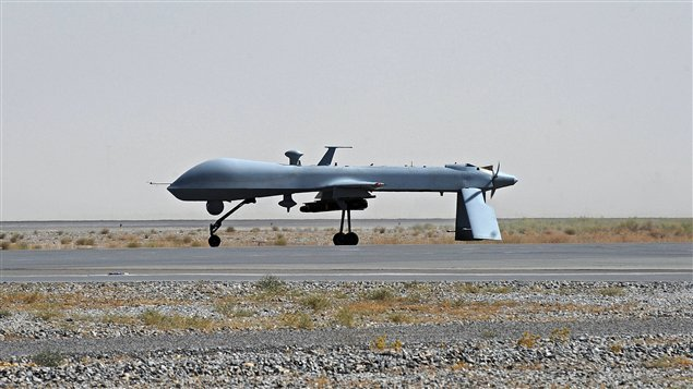 Un drone américain, à Kandahar (archives)