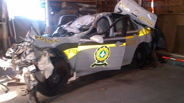 Une jeune polici re de la sq perd la vie ici radio - Accident de voiture coup du lapin ...