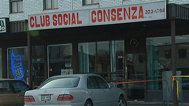 La façade du Club social Consenza