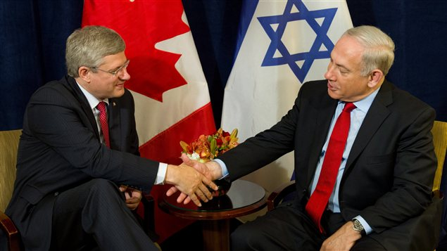 Le premier ministre israélien Benjamin Netanyahou et son homologue canadien se sont rencontrés à New York.
