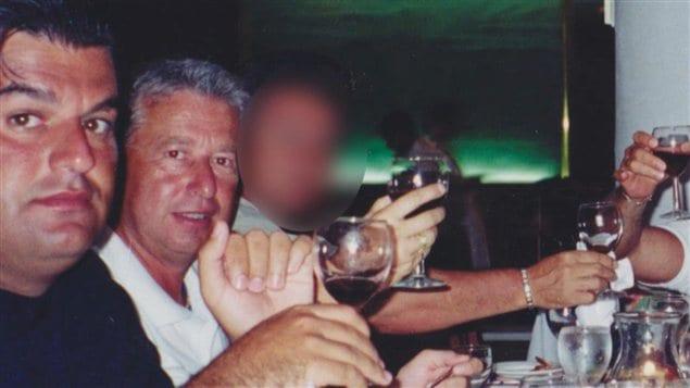Gilles Surprenant ( à droite, sur la photo, de M. Zambito)