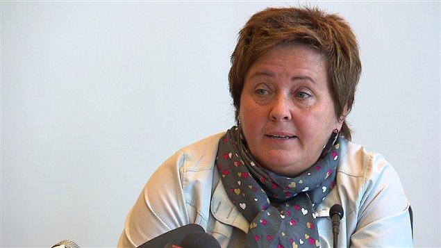 La mairesse de Baie-Comeau, Christine Brisson