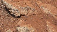 Les roches érodées photographiées par le robot Curiosity sur Mars  | © AFP/NASA