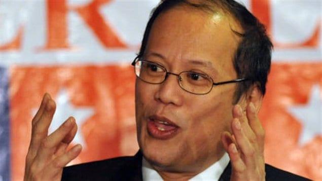 Le président philippin, Benigno Aquino