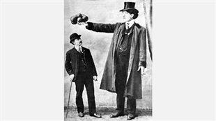 Édouard J. Beaupré, le géant de Willow Bunch.
