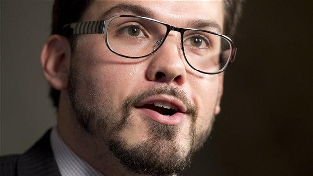 Dany Morin, député du NPD