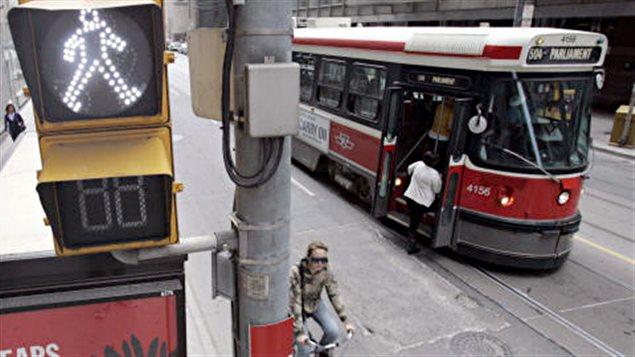 Tramway à Toronto
