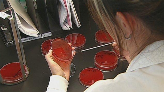 Technicienne en laboratoire