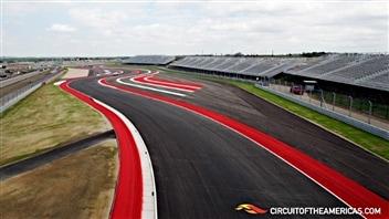 Le circuit F1 d'Austin au Texas
