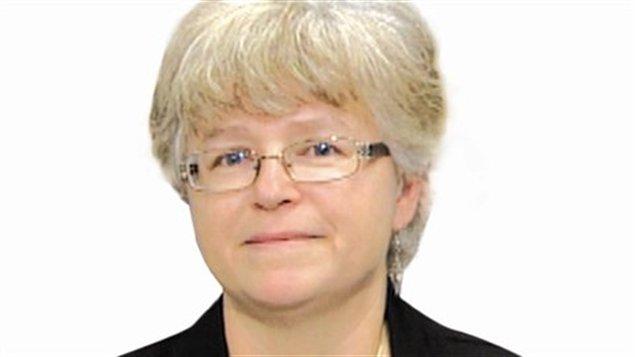 Paulette Gaudet, candidate à la présidence de l'ACF.