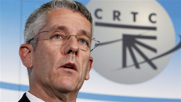 Jean-Pierre Blais, président du CRTC