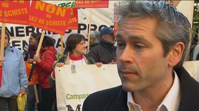Patrick Bonin, porte-parole de Greenpeace