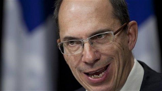 François Casgrain, commissaire au lobbyisme du Québec