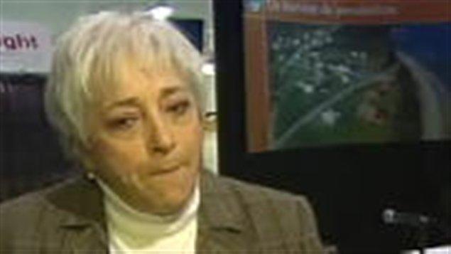 La mairesse de Sainte-Anne-des-Monts, Micheline Pelletier