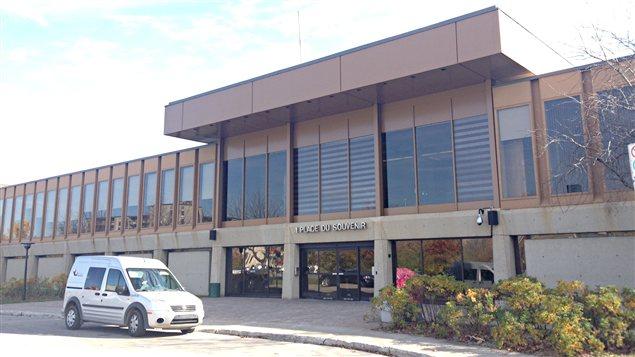 L'hôtel de ville de Laval