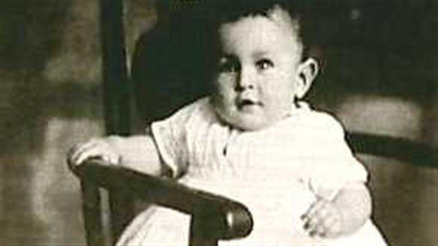 René Lévesque enfant
