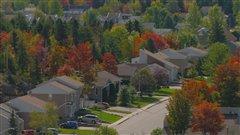 Quartier résidentiel de Saguenay