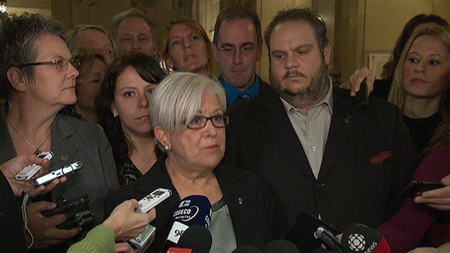Louise Harel , chef de Vision Montréal