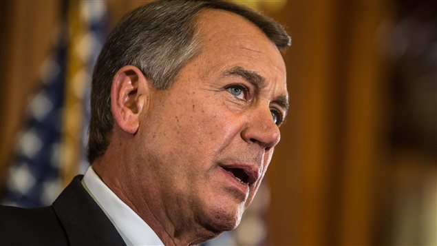 À Washington D.C., le président de la Chambre des représentants, John Boehner, a appelé le président Obama à collaborer avec les républicains de la Chambre.