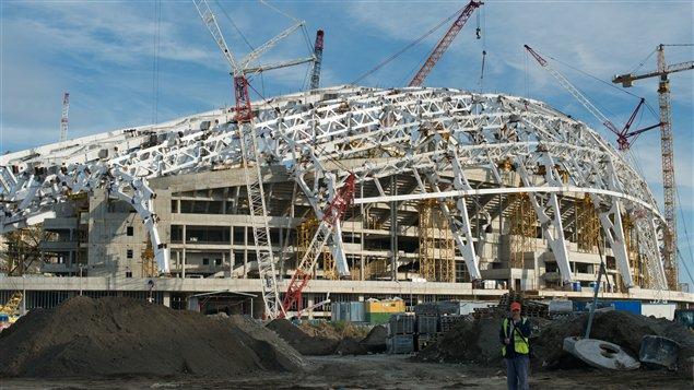 Le Stade olympique Fisht accueillera les cérémonies d'ouverture, de clôture et de remises de médailles pendant les Jeux de Sotchi.