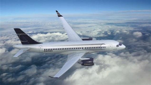Un C-Series de Bombardier